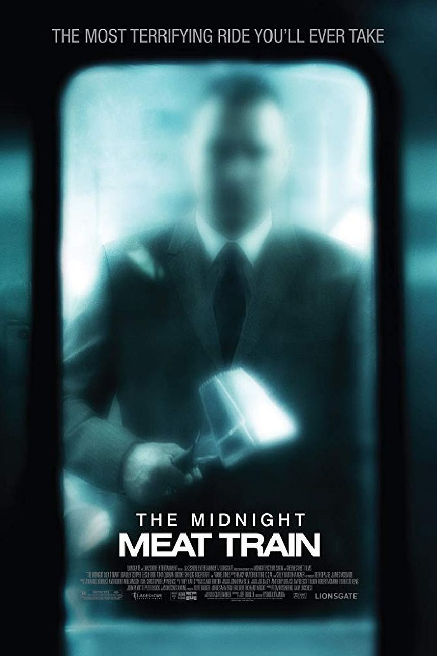 The Midnight Meat Train poster art